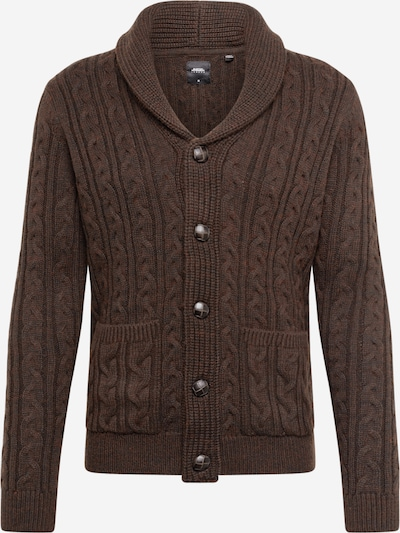 BURTON MENSWEAR LONDON Strickjacke in braun, Produktansicht