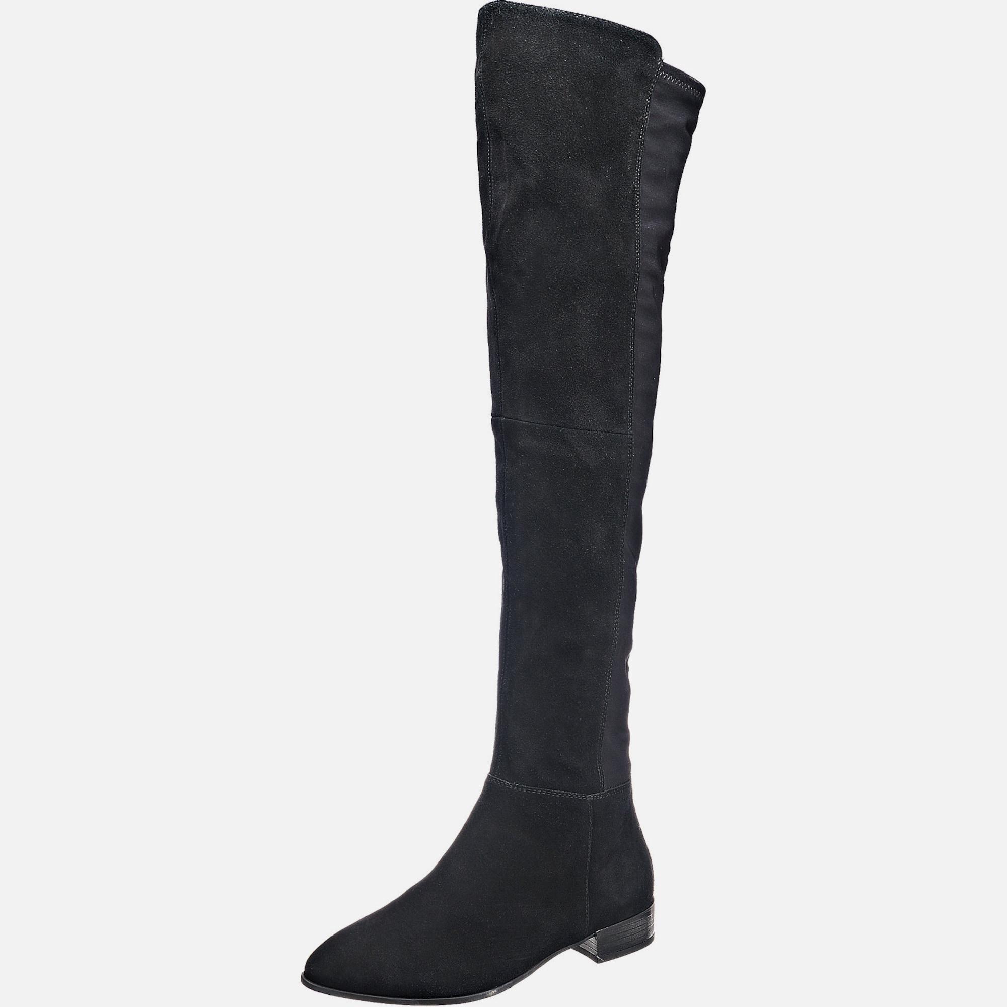 vagabond shoemakers overknee stiefel 39 jamilla 39 in grau. Black Bedroom Furniture Sets. Home Design Ideas