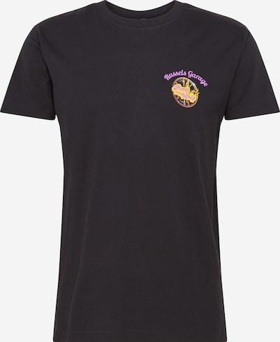 Mister Tee Shirt 'Pimp My Whip' in gelb / lila / schwarz, Produktansicht