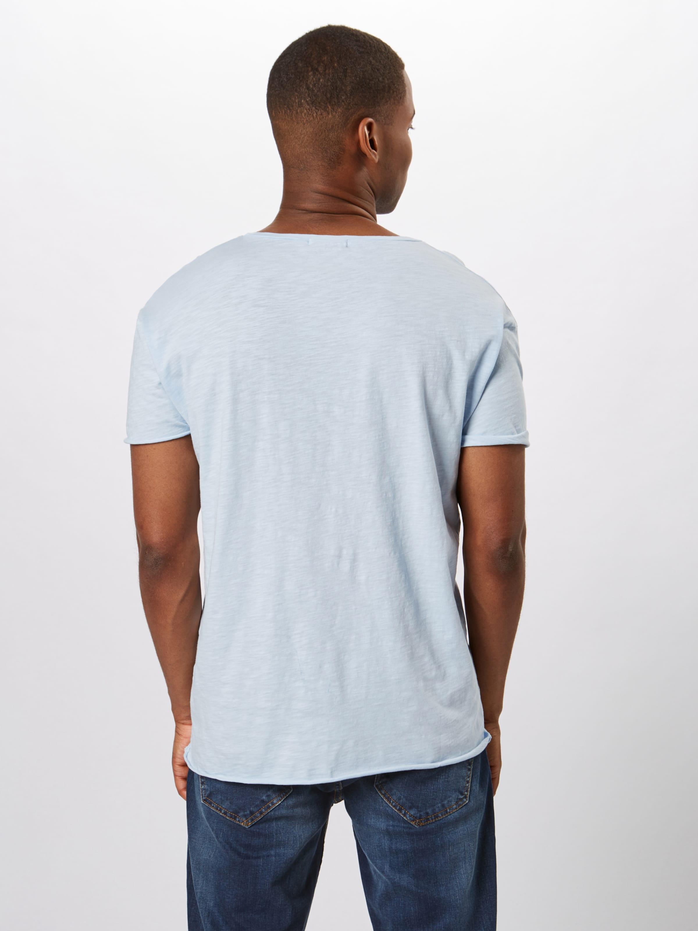 shirt Co 'roger Jeans T Clair Slub' Bleu Nudie En 0kwPnO