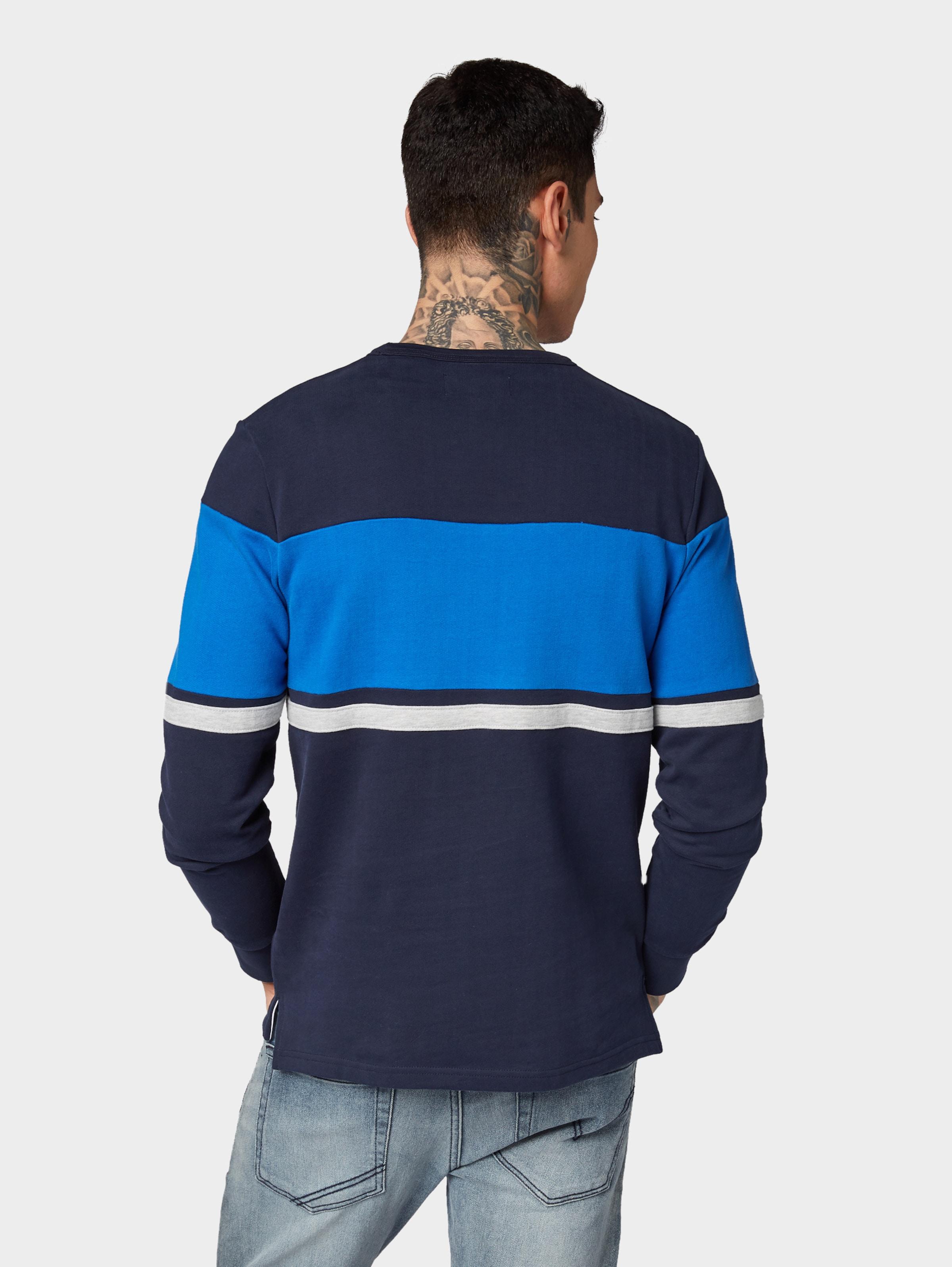 Tailor In Denim NavyRoyalblau Tom Sweatshirt hQtrsBCdxo