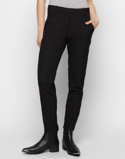 FIVEUNITS Stoffhose 'Kylie Crop' in schwarz, Modelansicht