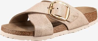 BIRKENSTOCK Pantolette 'Siena' in braun / pastellpink, Produktansicht