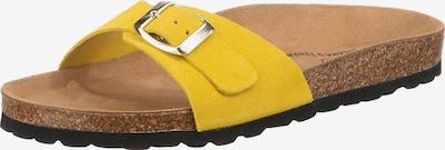 JOLANA & FENENA Pantolette in gelb, Produktansicht