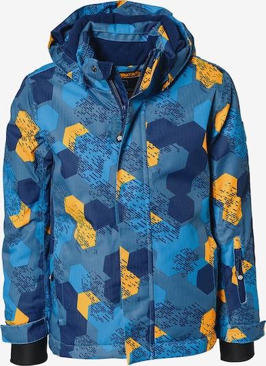 COLOR KIDS Skijacke 'Dartwin' in blau / royalblau / himmelblau / gelb, Produktansicht