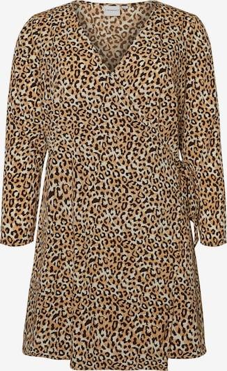 Junarose Kleid in camel / braun, Produktansicht