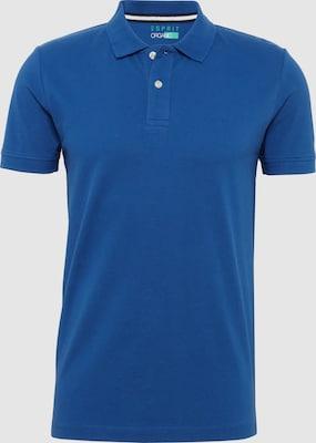 ESPRIT Shirt 'OCS N po co piq' in Royal blue/koningsblauw