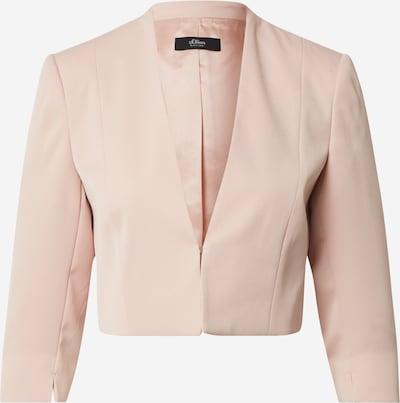 s.Oliver BLACK LABEL Blazer in rosé, Produktansicht