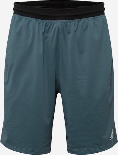 ADIDAS PERFORMANCE Pantalon de sport en bleu cobalt, Vue avec produit