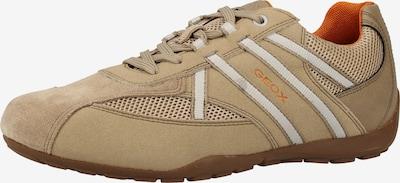 GEOX Sneakers laag in de kleur Beige / Wit, Productweergave