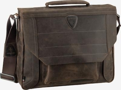 STRELLSON Porte-documents 'Hunter MHF' en brun foncé, Vue avec produit