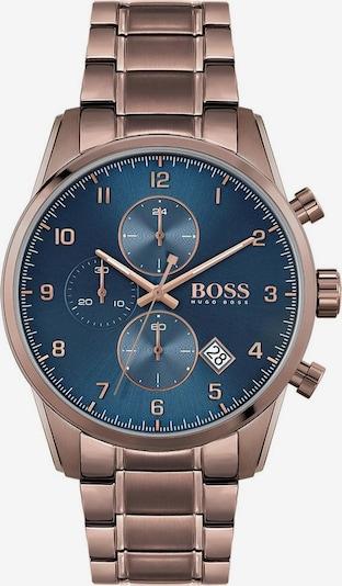 BOSS Chronograph 'Skymaster' in enzian / braun, Produktansicht