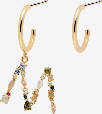 P D PAOLA Pendientes en oro / mezcla de colores, Vista del producto