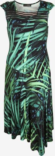 Doris Streich Kleid in hellgrün / schwarz, Produktansicht