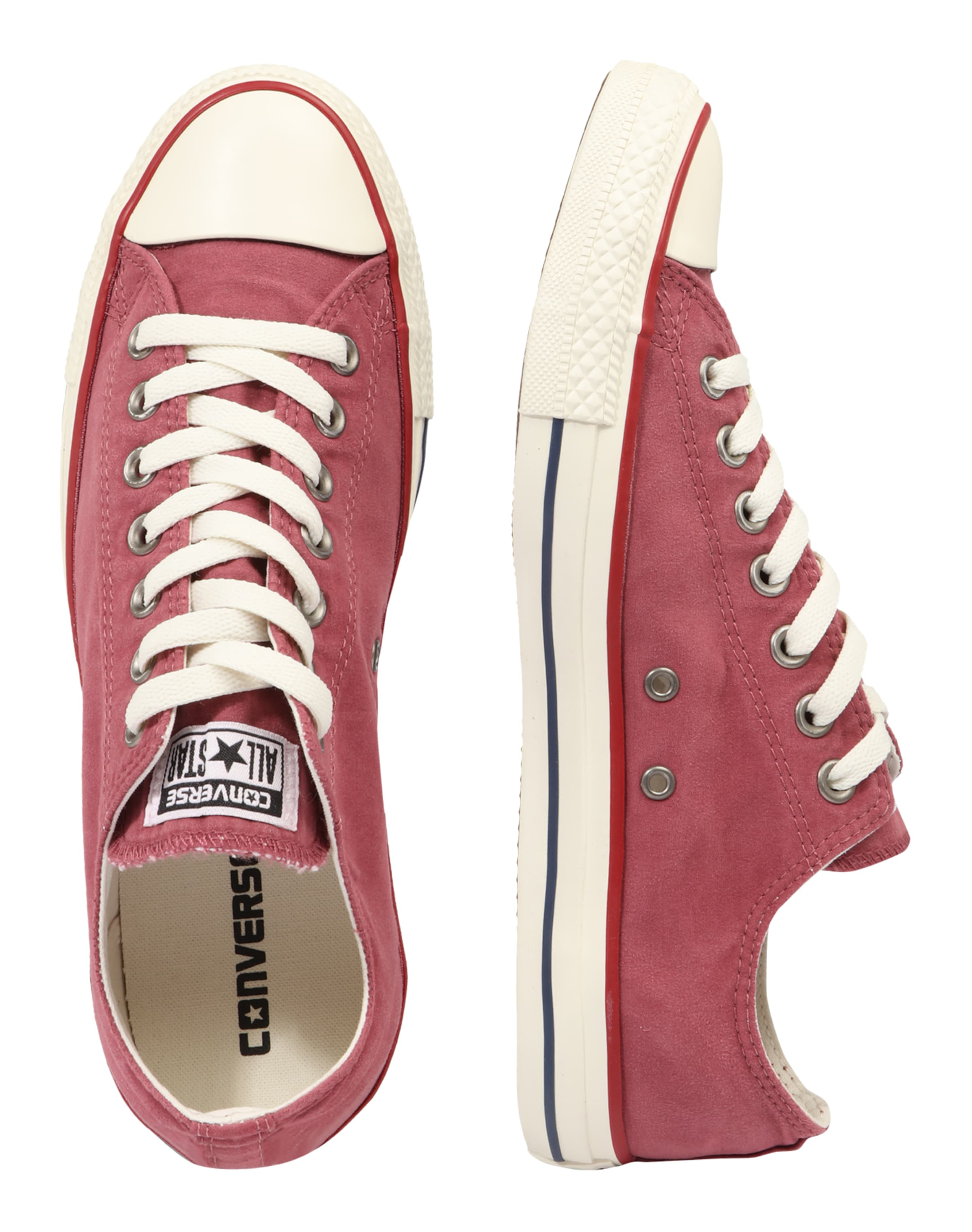 'chuck Ox' Taylor All Converse Baskets En Basses PastelBlanc Star Rouge 8vm0NnwO