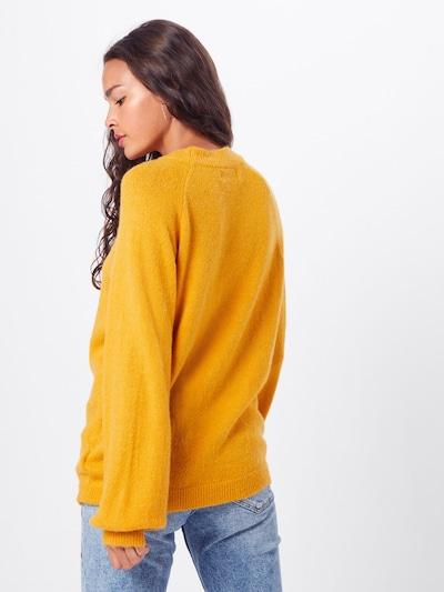 Moves Pull-over 'Savea 0562' en jaune: Vue de dos