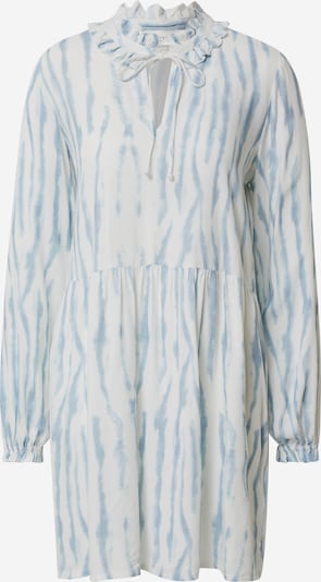 Rochie 'Frida' Cecilie Copenhagen pe albastru deschis / alb: Privire frontală