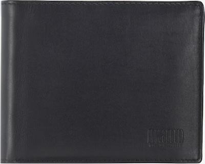 mano Geldbörse 'Planus' in schwarz, Produktansicht