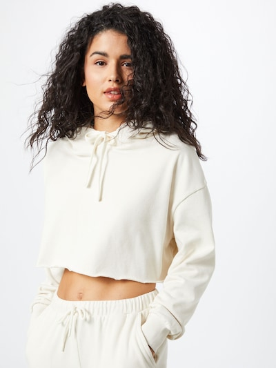 NU-IN Bluzka sportowa w kolorze kremowym, Podgląd na modelu(-ce)