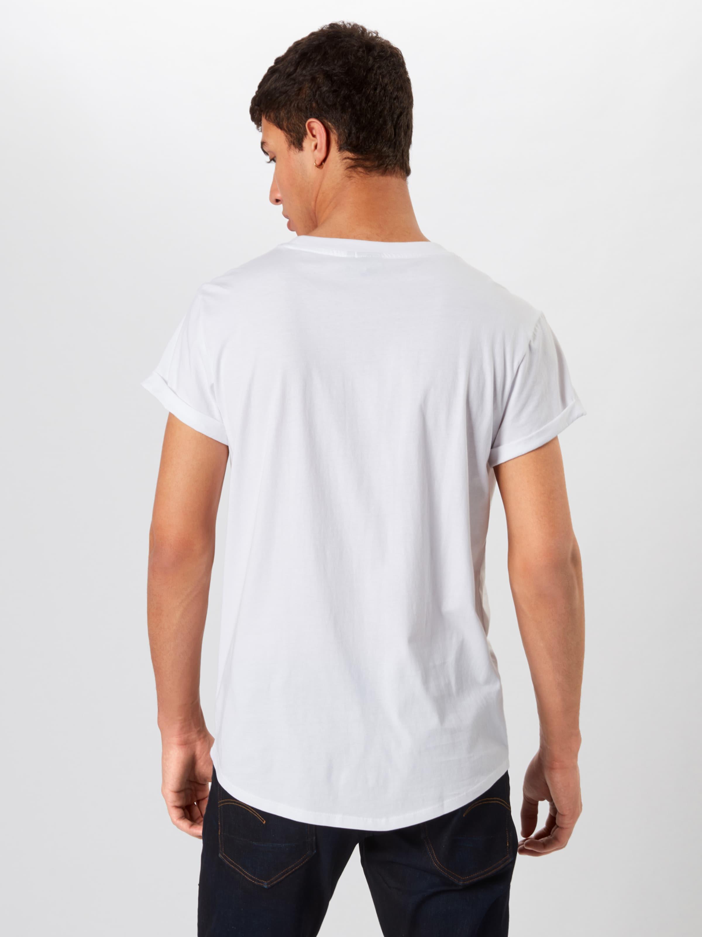 En G shirt Blanc star T Raw l3cFJTK1