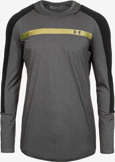 UNDER ARMOUR Trainingsshirt 'HeatGear Perpetual' in gold / grau, Produktansicht