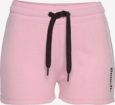 BENCH Shorts in rosa / schwarz, Produktansicht