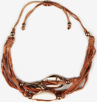 J. Jayz Armband in braun / gold / pastellpink, Produktansicht