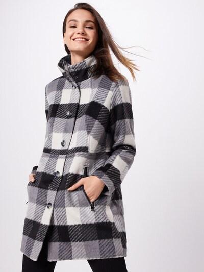 STREET ONE Mantel in grau / schwarz / weiß, Modelansicht