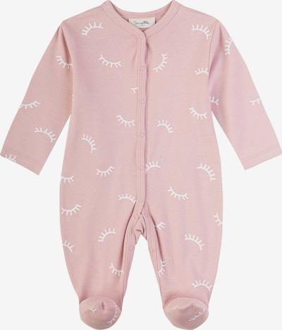 SANETTA Schlafanzug in rosa / weiß, Produktansicht