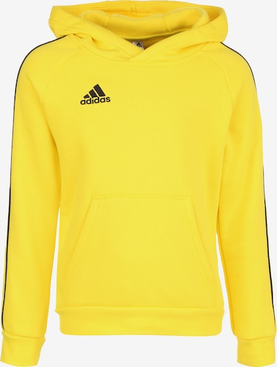 ADIDAS PERFORMANCE Sportief sweatshirt 'Core 18' in de kleur Citroengeel, Productweergave