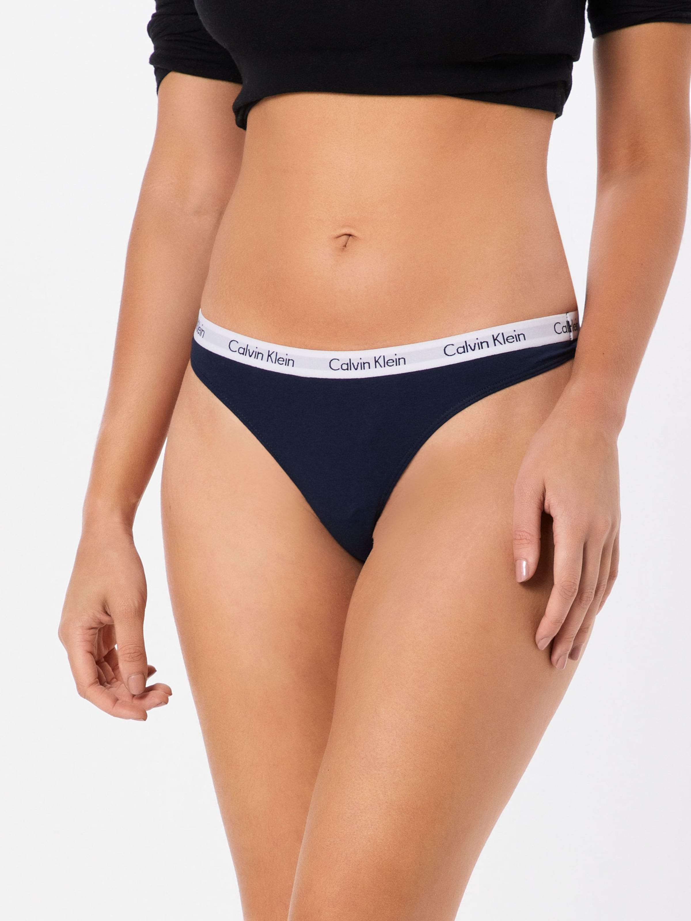 Calvin String En Bleu Klein Blanc 'thong' Underwear FoncéGris 3AcL4jqR5