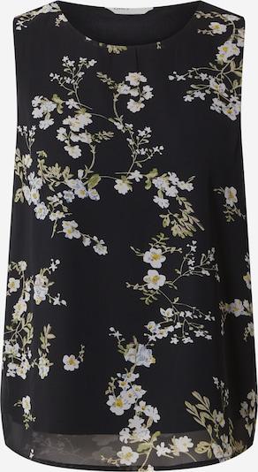 ONLY Blouse 'Alyssa' in de kleur Groen / Zwart / Wit, Productweergave