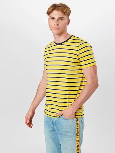 ESPRIT Tričko - žlutá / černá / bílá: Pohled zepředu
