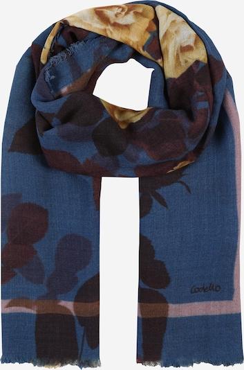 CODELLO Schal in blau / braun, Produktansicht