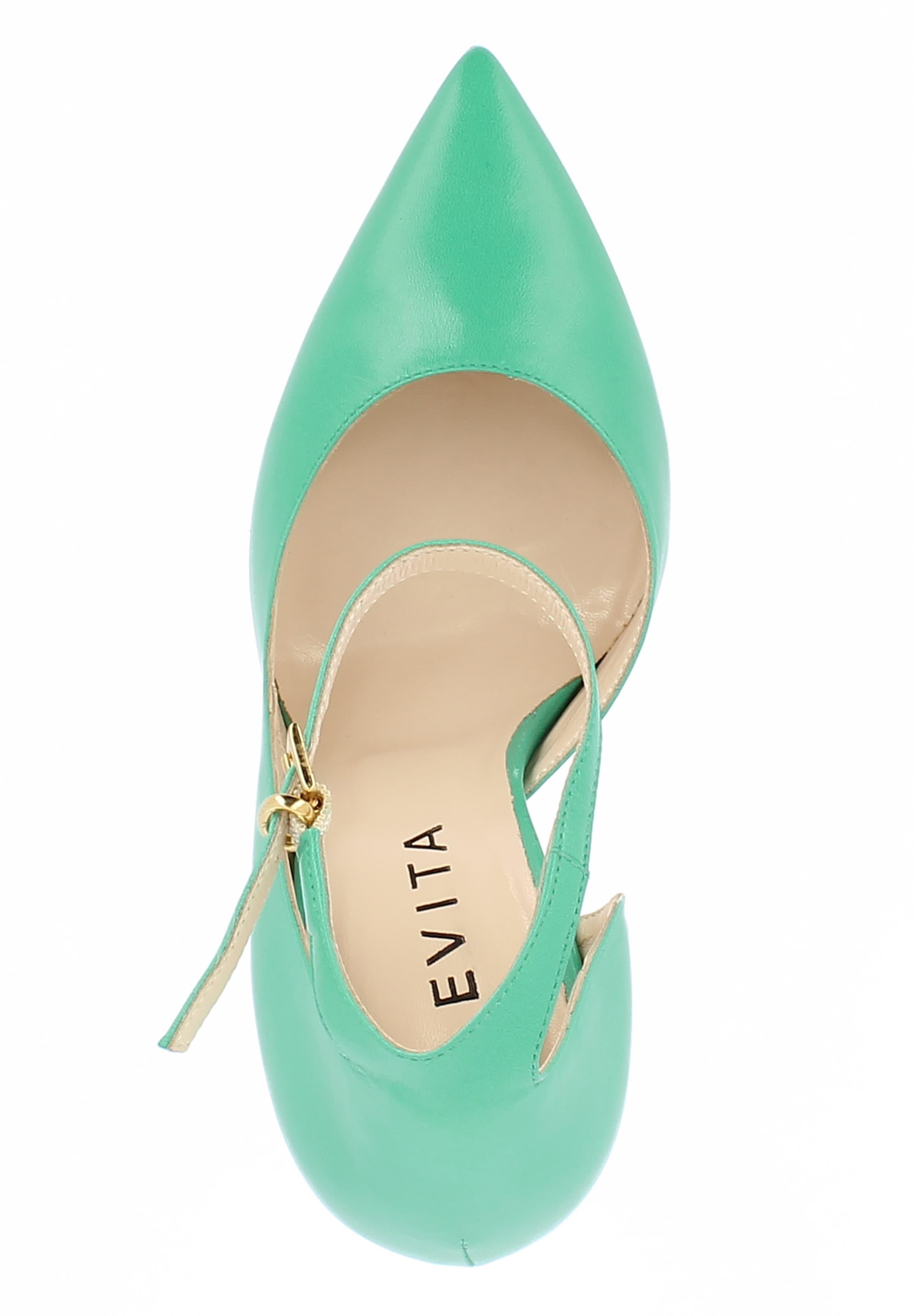 'lisa' Evita Evita En Escarpins En Menthe Escarpins Menthe Evita 'lisa' wvm8PN0Oyn