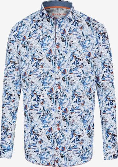 Rich Friday Hemd in hellblau / mischfarben, Produktansicht