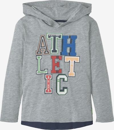 TOM TAILOR Sweatshirt in graumeliert / mischfarben, Produktansicht