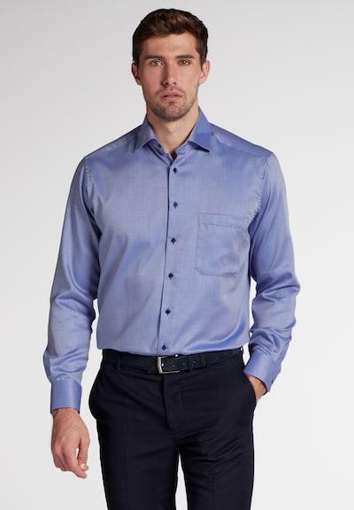 ETERNA Zakelijk overhemd in de kleur Blauw / Wit: Vooraanzicht