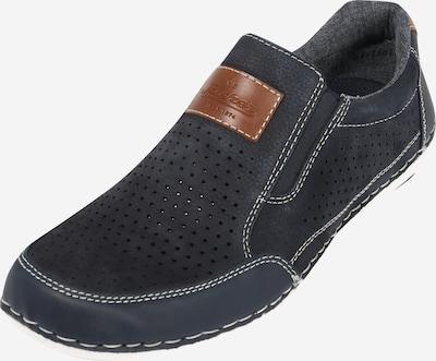 Papuci de casă RIEKER pe albastru închis, Vizualizare produs