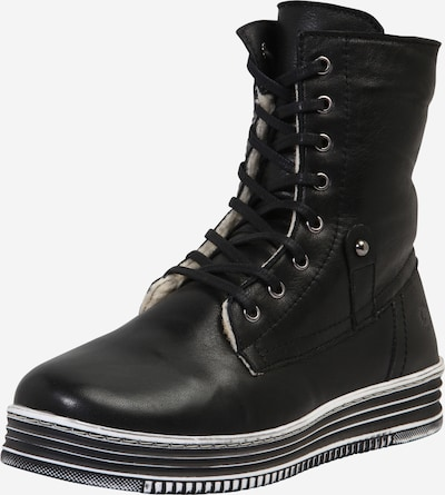 Suvarstomieji kulkšnis dengiantys batai iš COSMOS COMFORT , spalva - juoda, Prekių apžvalga