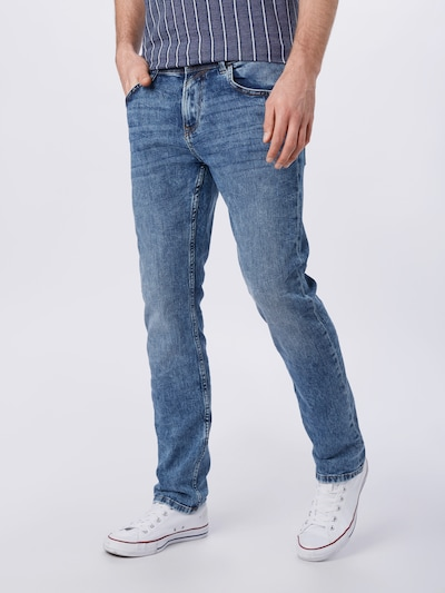 TOM TAILOR DENIM Jeans in blue denim, Modelansicht