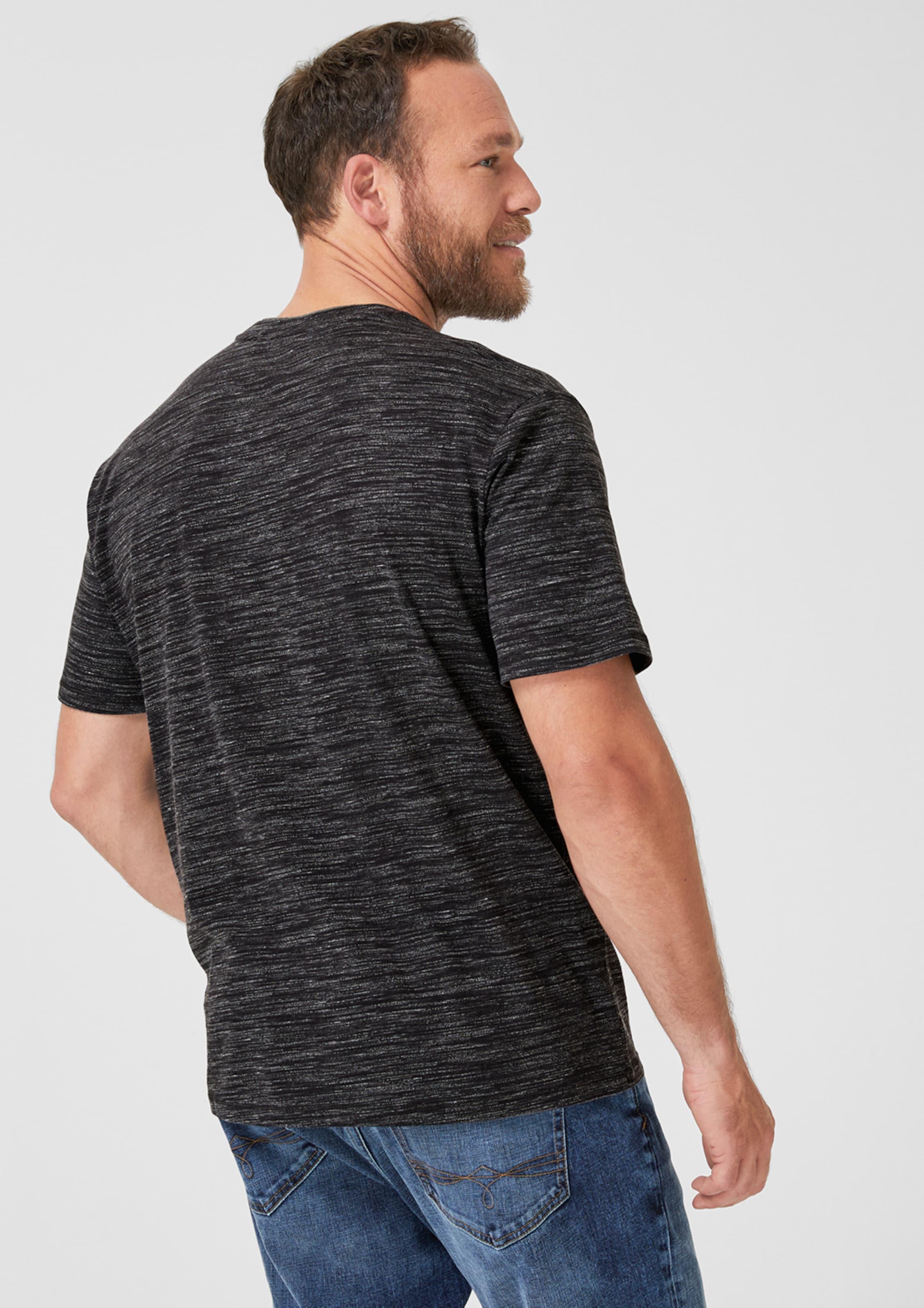 S S In Shirt In Schwarz oliver oliver Shirt Schwarz BCoeWrdx