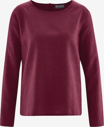 HempAge Blusenshirt in Rot