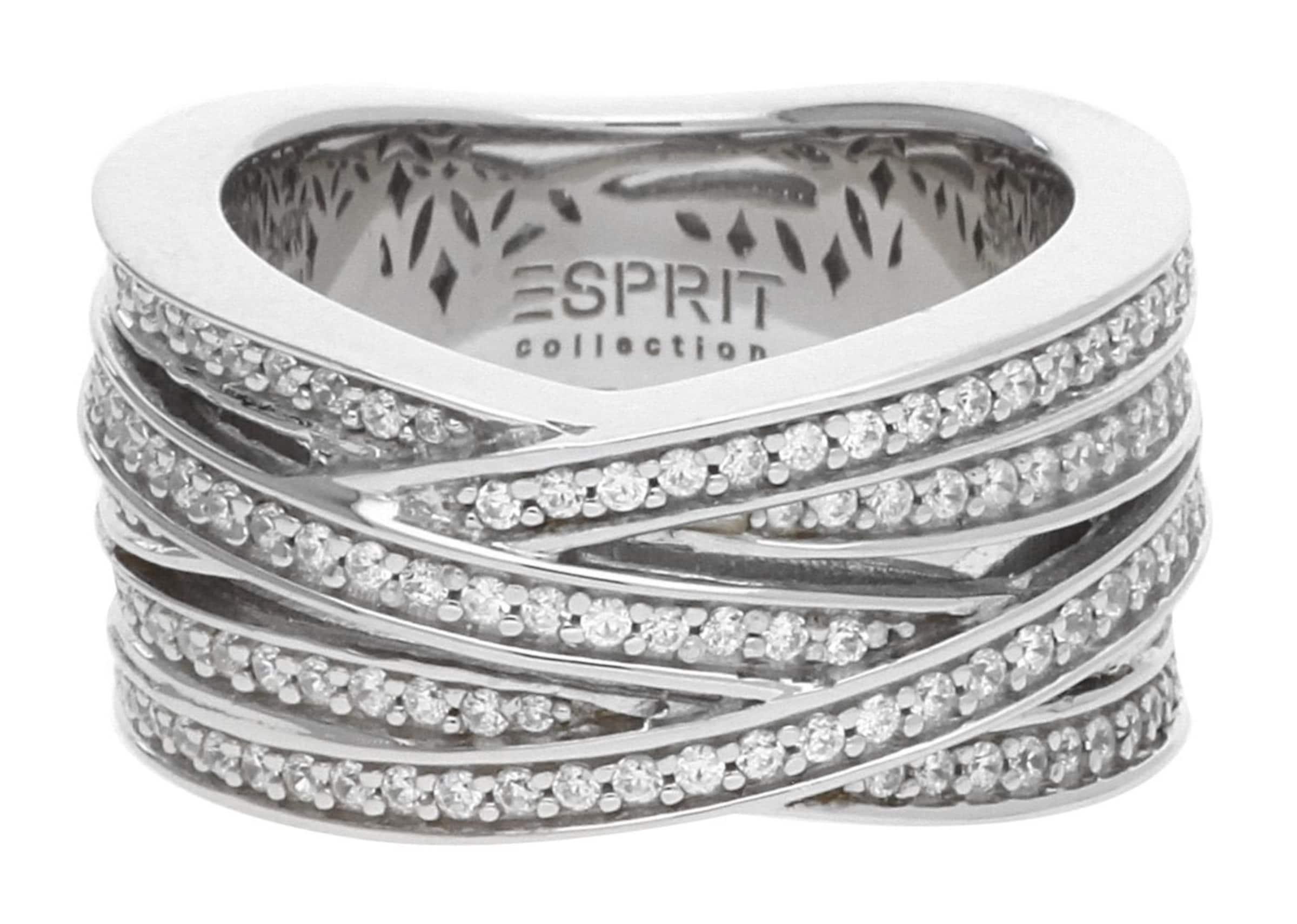 Spielraum In Mode ESPRIT Fingerring Pallyne Day mit Zirkonia-Steinbesatz Aussicht Zum Verkauf Preiswerten Realen Q4aCU7r