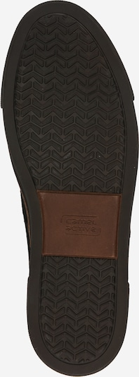 CAMEL ACTIVE Sneaker 'Racket' in braun / schwarz: Ansicht von unten