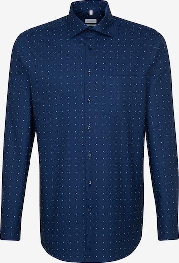 SEIDENSTICKER Zakelijk overhemd 'Modern' in de kleur Donkerblauw / Rood / Wit: Vooraanzicht