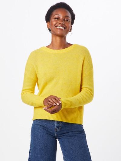 Megztinis 'NETE' iš OBJECT , spalva - geltona: Vaizdas iš priekio