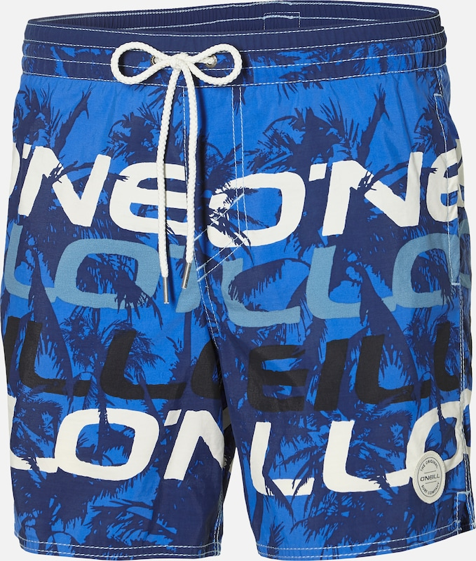 O'NEILL Badeshorts 'PM STACKED SHORTS' in blau, Produktansicht