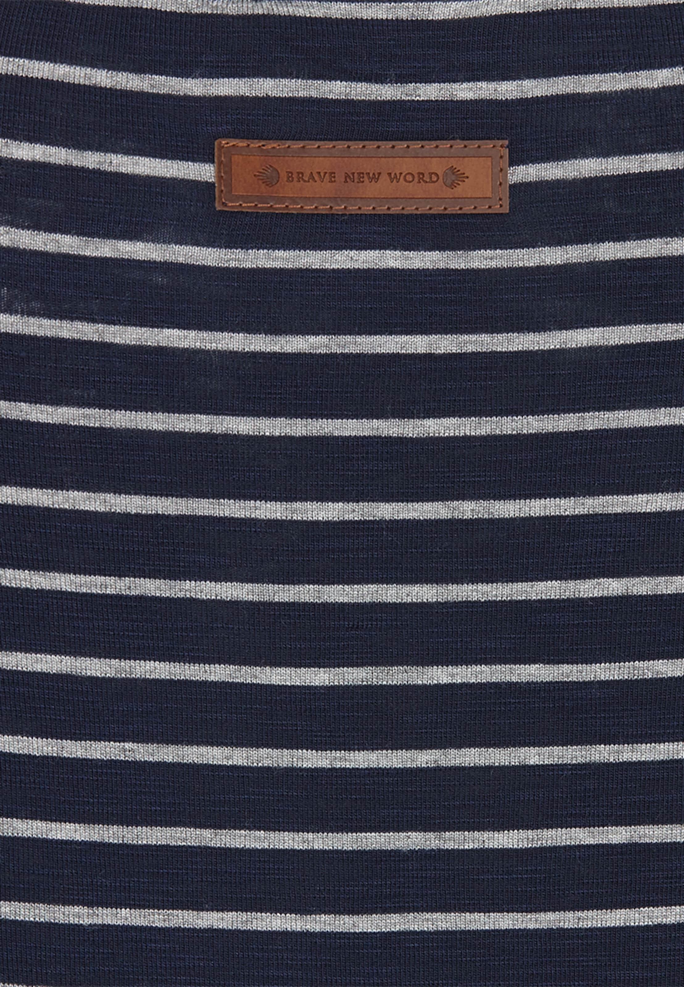 Naketano Girl' 'striped DunkelblauGrau In Shortsleeve QxsrdCth