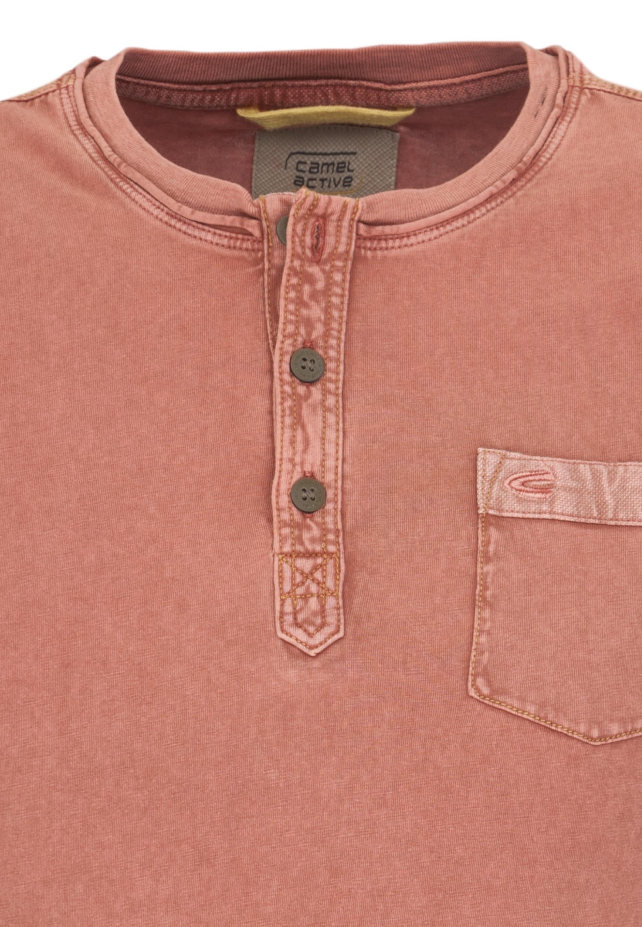 T In shirt Camel Orangemeliert Active lFcJTK1